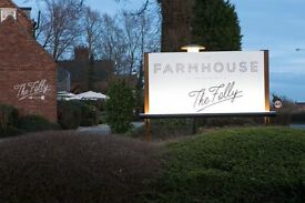 Junior Sous Chef - The Farmhouse at Mackworth, Derby