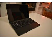 """Sony Z4 10"""" waterproof tablet with official case, bluetooth keyboard plus case for keyboard"""