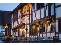 LIVE IN - Front of house couple (bar & waiting) required for The Crown Inn, Chiddingfold