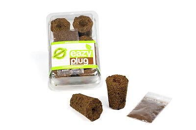 12er Eazy Plug® Tray mit Anzuchtwürfeln Stecklingsblöcke Anzuchttray Samen Grow