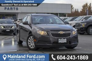 2011 Chevrolet Cruze LS *ACCIDENT FREE* *LOCALLY DRIVEN*