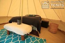 4m or 5m Bell Tent | Canvas Bell Tent | Canvas Tent | Glamping Warrandyte Manningham Area Preview
