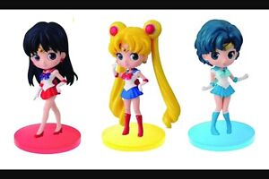 Sailor moon Q posket vol 1 set brand new