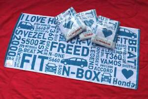 'I Love Honda' towel - JDM heart Civic Accord Integra Mugen throw Kalorama Yarra Ranges Preview