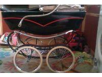 vintage coachbuilt pram
