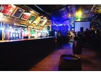 Part time bar person wanted