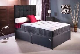 SUPERB OFFER WITH THE BEST QUALITY MEMORY FOAM BED BRAND NEW SAME DAY DELIVERY ALL OVER LONDON