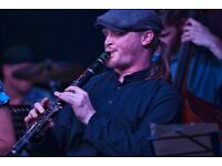 Friendly professional music tutor - Saxophone, Clarinet, Piano, Music Theory, Workshop leader