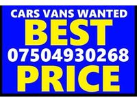 📞 07504 930268 WANTED CAR VAN MOTORCYCLE EVEN SCRAP BUY YOUR SELL MY FAST LONDON Wqe
