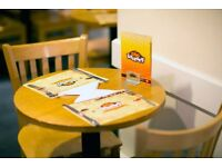 Manager & Waiters urgently needed Pie Factory Cafe in Whitechapel.