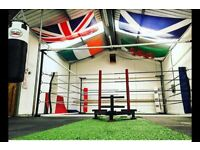 Pro am boxing ring 4 months old £1100 !!! 07565525343