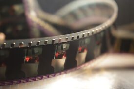 35mm film - pieces of film - film by the meter - cinematographic film