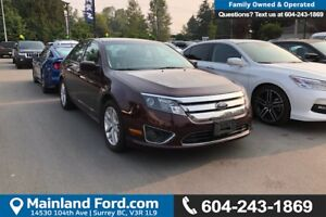 2012 Ford Fusion SEL *ACCIDENT FREE* *LOCALLY DRIVEN*