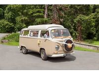 VW T2 Baywindow campervan