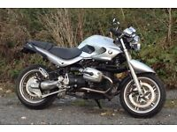 Bmw r1150r motorcycle cafe racer streetfighter 2003