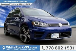 2017 Volkswagen Golf R 2.0 TSI NAVIGATION, REAR PARKING CAMER...