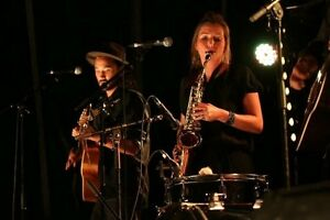 Musicians playing folk cover songs Glebe Inner Sydney Preview