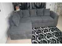 DYLAN☺️JUMBO CORD CORNER ALL FOAM OR 3+2 SEATER SOFA SET AVAILABLE IN STOCK