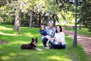 Young, serious family looking to rent a house in Calgary/Airdrie
