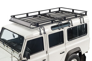 Volle größe safari stil korb dachträger 3 türen Land Rover defender 90 jahr 1983