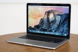 "Apple Macbook Pro 13"" Retina, Core i7 3.0 GHz, 16 GB, 512 GB SSD, 2560 X 1600 Retina Screen, Free Softwares"