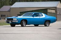 1973 numbers matching Plymouth Road Runner .