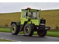 MB Trac 1000 1986 Mercedes tractor