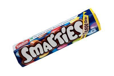 Nestle Smarties Hexatube (38g) packs of 8/12/24/48 Chocolate Tube