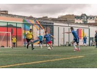 Play casual 8 a side football every Thursday 7pm in North London