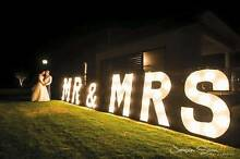 Love Light Letters for HIRE West Perth Perth City Preview
