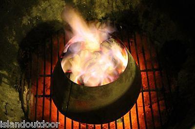 BBQ Vortex for 18.5 22.5 WSM Smokey Mountain Stainless - Small