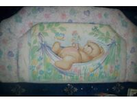 FOREVER FRIENDS SINGLE PADDED HEADBOARD GREAT FOR A BEDROOM OR NURSERY