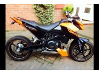 KTM 690 Duke - low miles & great condition, nice accessories