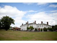 SENIOR SOUS CHEF up to £30,000 MILTON HILL HOUSE HOTEL NEAR DIDCOT