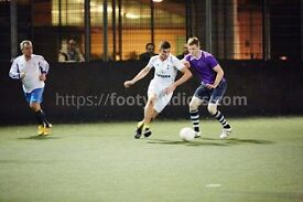Need few players for friendly football today 8pm at Shepherds Bush