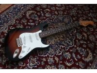Classic Vibe 60's Squier Stratocaster Guitar by Fender - Like New