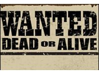 Guitars WANTED - Contact with Details :0)