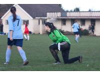 Womens Goal KeeperWanted