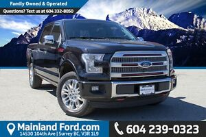 2015 Ford F-150 Platinum LOCAL, ONE OWNER