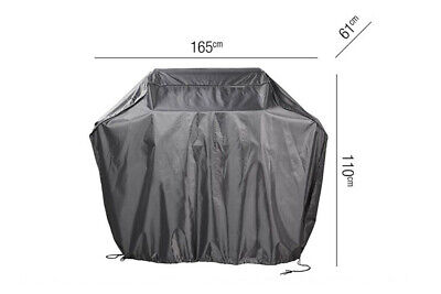 Grill-Schutzhülle 165 x 61 x 110 cm Außenküche Abdeckung Smoker AeroCover XL
