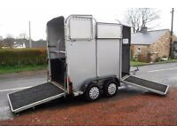 IFOR WILLIAMS HB505 HORSE BOX TRAILER ALLY FLOOR READY TO TOW MAIN DEALER PX BARGAIN