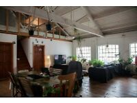 2 Double Rooms in Lovely Warehouse Conversion