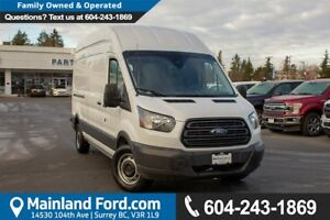 2018 Ford Transit-250 ACCIDENT FREE, LOCALLY DRIVEN, EX- RENTAL