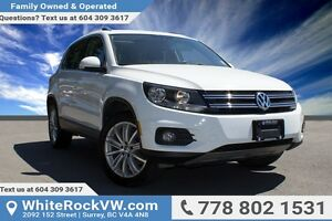 2014 Volkswagen Tiguan Highline PANORAMIC SUNROOF, LEATHER IN...