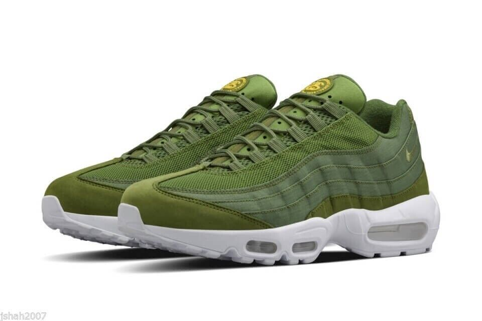 online store a6289 db78f nike air max 95 hyperfuse stussy green khaki white all sizes paypal  delivery BNIB x | in Hockley, West Midlands | Gumtree