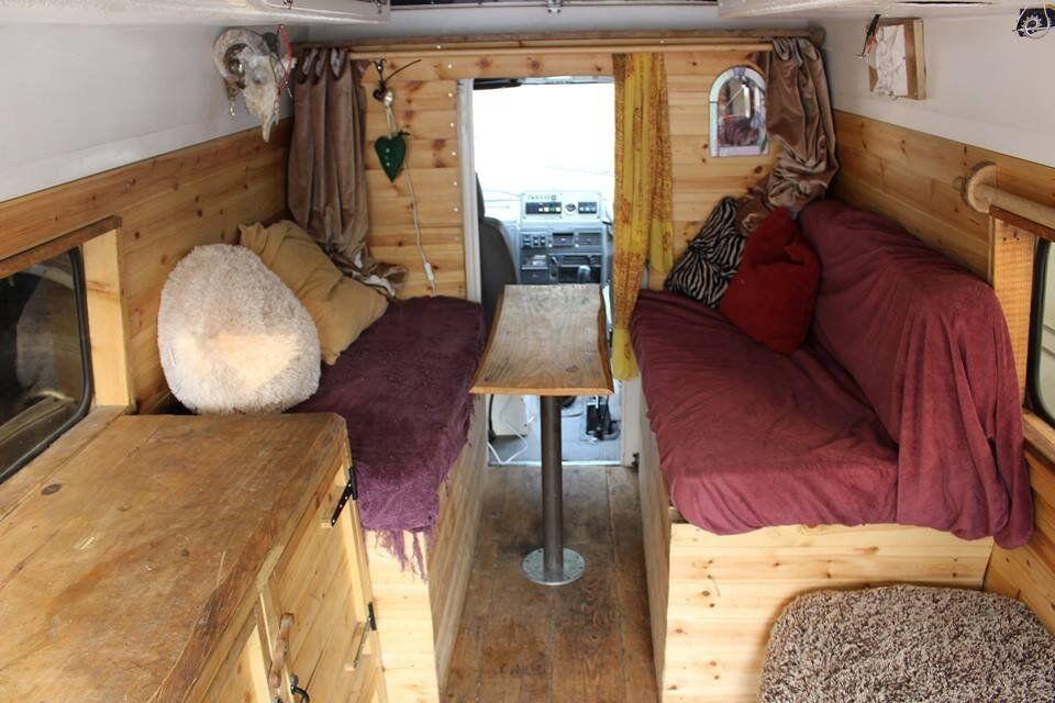 IVECO-FORD Camper DVLA Reg 10 months MOT wood-burner/rustic built 5 speed Manual Transmission