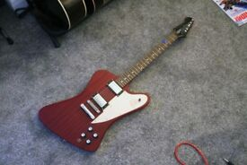 2006 Epiphone Firebird Pro Electric Guitar | Cherry Red | Made in Korea | Great Condition