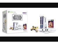 Limited edition Star Wars Xbox 360