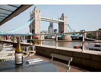 Receptionist / Host - Butler's Wharf Chop House - London Bridge - £9 ph - Full-time