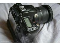 Nikon D90 Body & Genuine Battery Grip